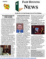 Fair Housing News Fall 2012