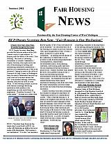 Fair Housing News Summer 2011
