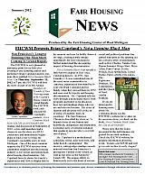 Fair Housing News Summer 2012