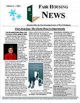 Fair Housing News Volume 1 - 2013