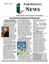 Fair Housing News Volume 1 - 2014