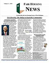 Fair Housing News Volume 1 - 2015