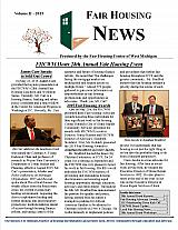 Fair Housing News Volume 2 - 2015