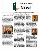 Fair Housing News Volume 2 - 2016