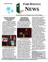 Fair Housing News Volume 3 - 2014