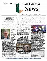 Fair Housing News Volume 3 - 2015