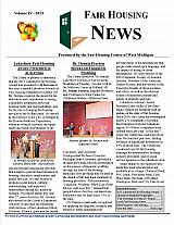 Fair Housing News Volume 4 - 2013